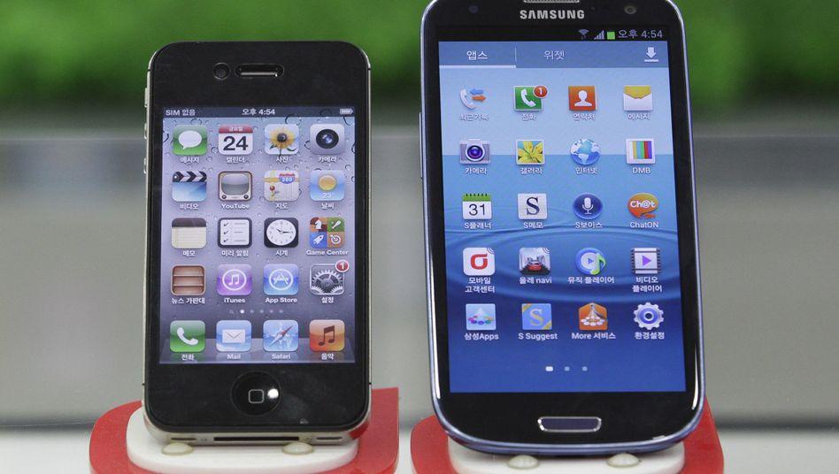 Milliardenstrafe im Smartphone-Patentkrieg: Apple triumphiert über Samsung - vorerst