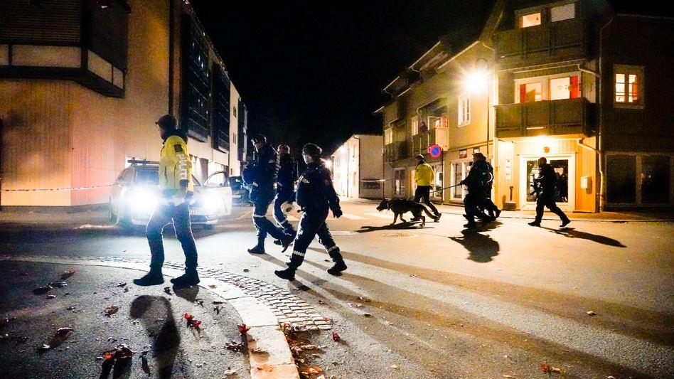 Polizeieinsatz in Kongsberg