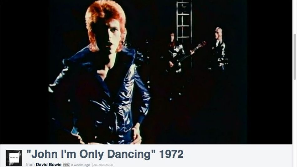 David Bowies rote Mähne kann nun in einer Best-Of-Videosammlung bewundert werden.