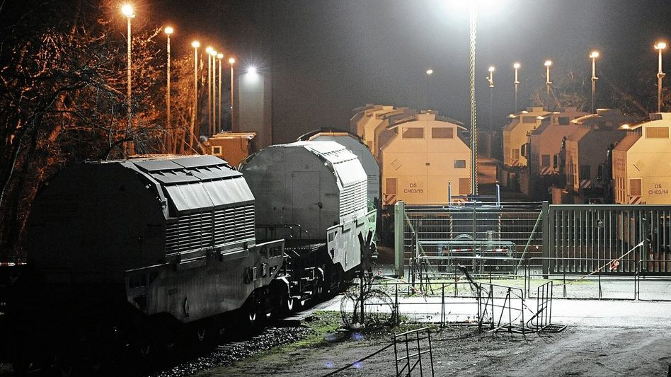 Atommülltransport in Dannenberg
