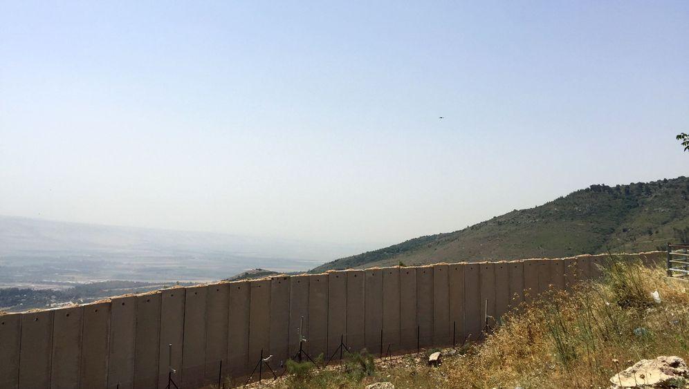 Grenze zwischen Libanon und Israel: Blauhelme und Beton