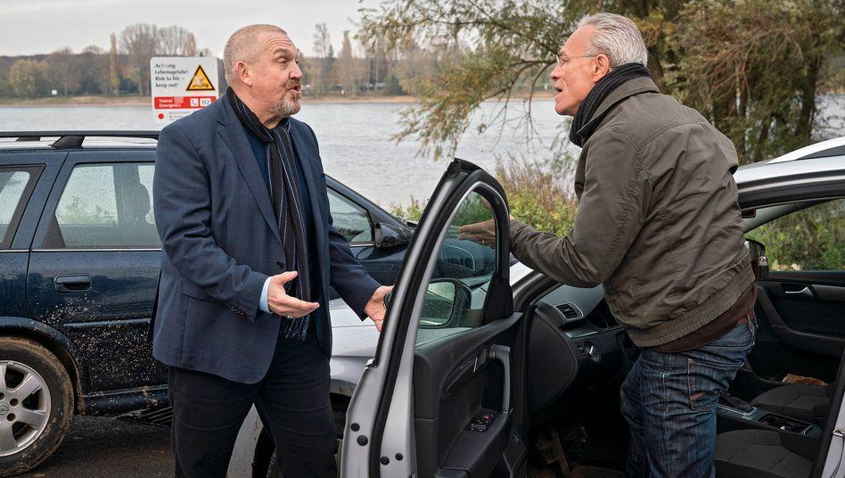 Alte DDR-Verbrechen im Visier: Schenk (Dietmar Bär) und Ballauf (Klaus J. Behrendt)