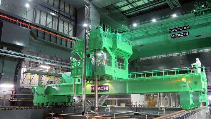 Fukushima: Risikofaktor Abklingbecken