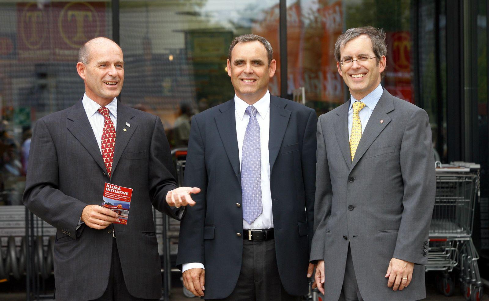 Karl-Erivan, Georg und Christian Haub
