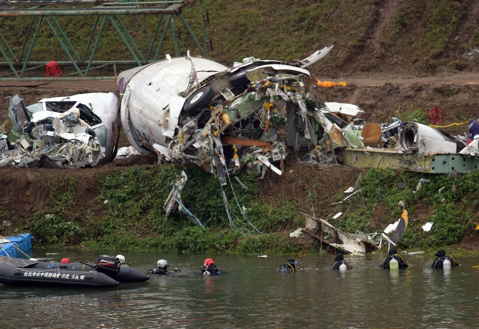 Taipeh Flugzeug Unglück