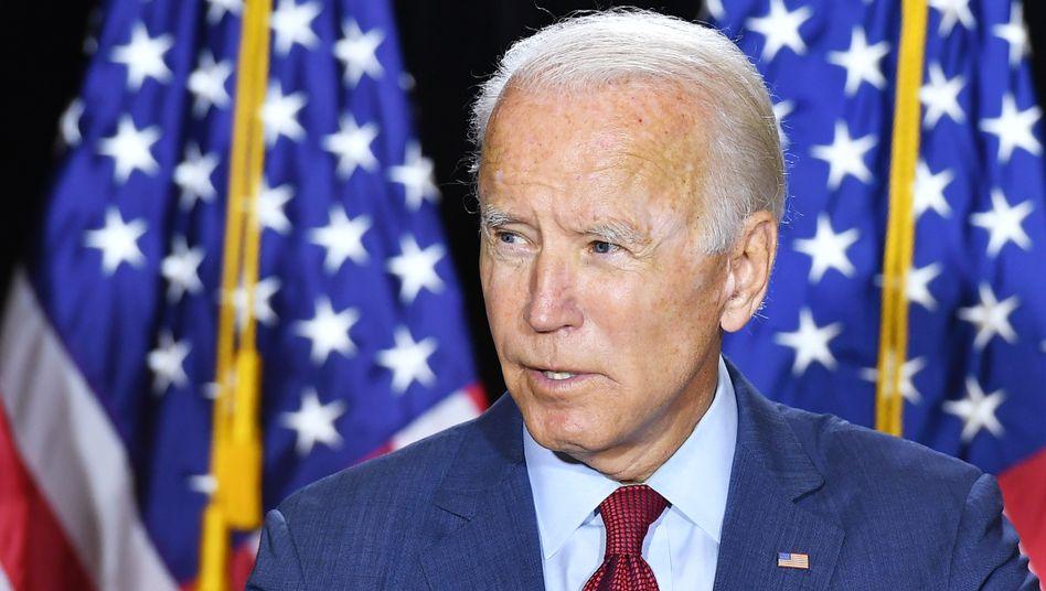 """Wahlsieger Joe Biden: Glückwünsche an """"Herrn Biden und Frau Harris"""""""
