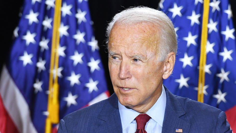 """Joe Biden: """"Die Wahrscheinlichkeit eines Biden-Wahlsiegs und eines blauen Durchmarschs nimmt zu"""""""