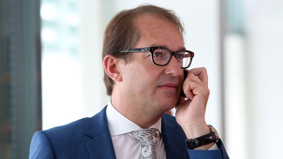 Verkehrsminister Dobrindt: Aus für die Maut - weitere Schlappe für die CSU