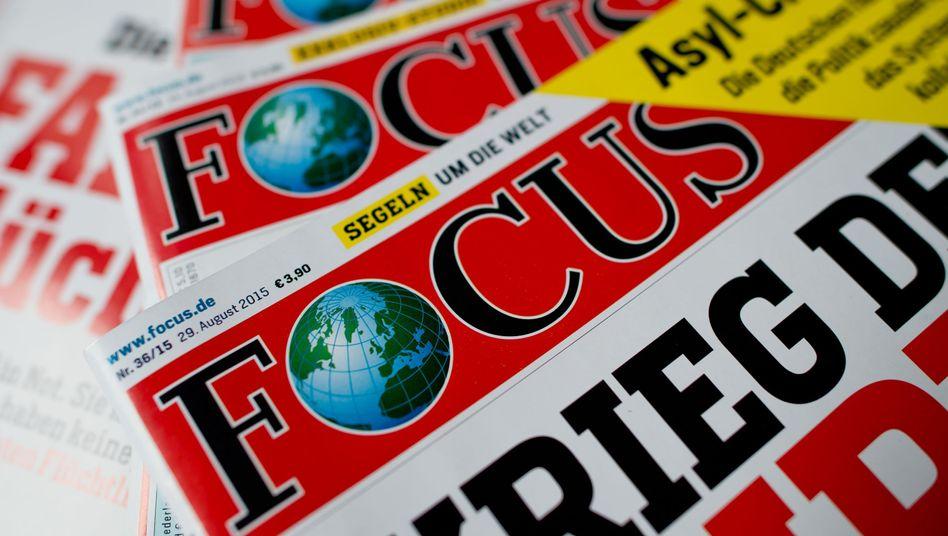 """Nachrichtenmagazin """"Focus"""": """"Starker Standort in Berlin"""""""