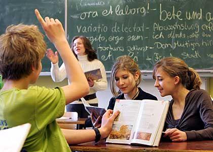 Schulklasse in Bremen: Schavan gegen Abschaffen des Sitzenbleibens