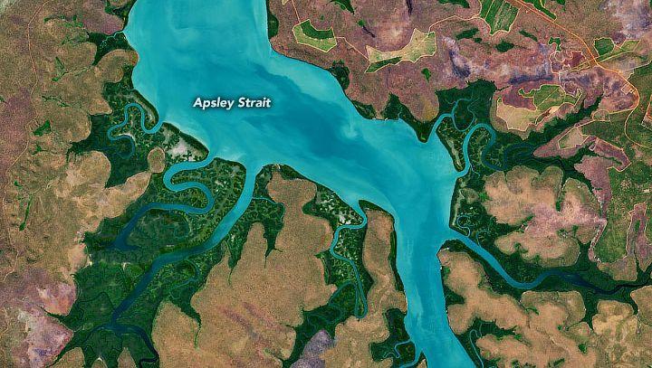 Apsley Strait im Norden von Australien