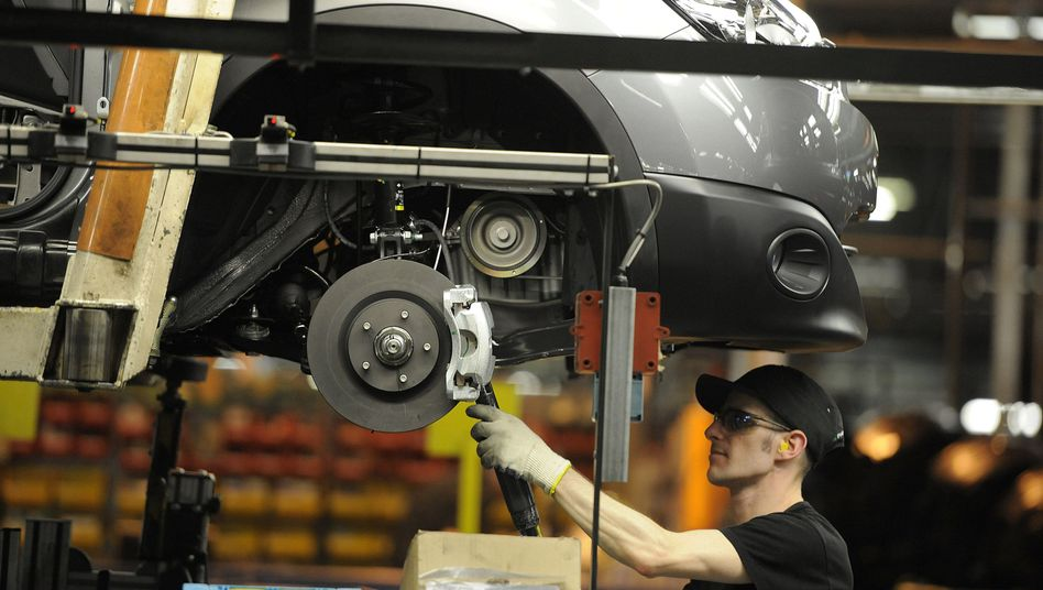 Nissan-Arbeiter in Sunderland: Produktion in 16 von 17 Monaten gesunken