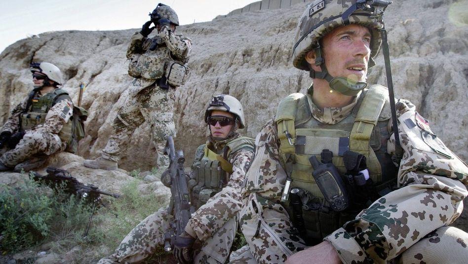 Bundeswehrsoldaten in Afghanistan Zunahme der Anschläge erwartet