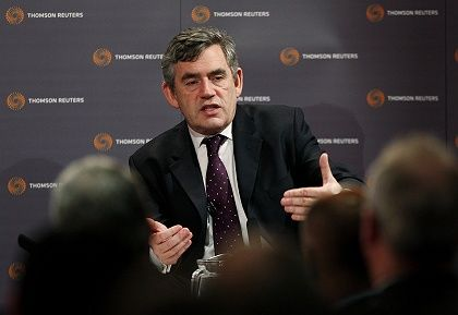 Gordon Brown may be on the rebound.