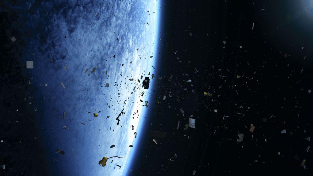 Weltraummüll: Gefährliche Geschosse im All