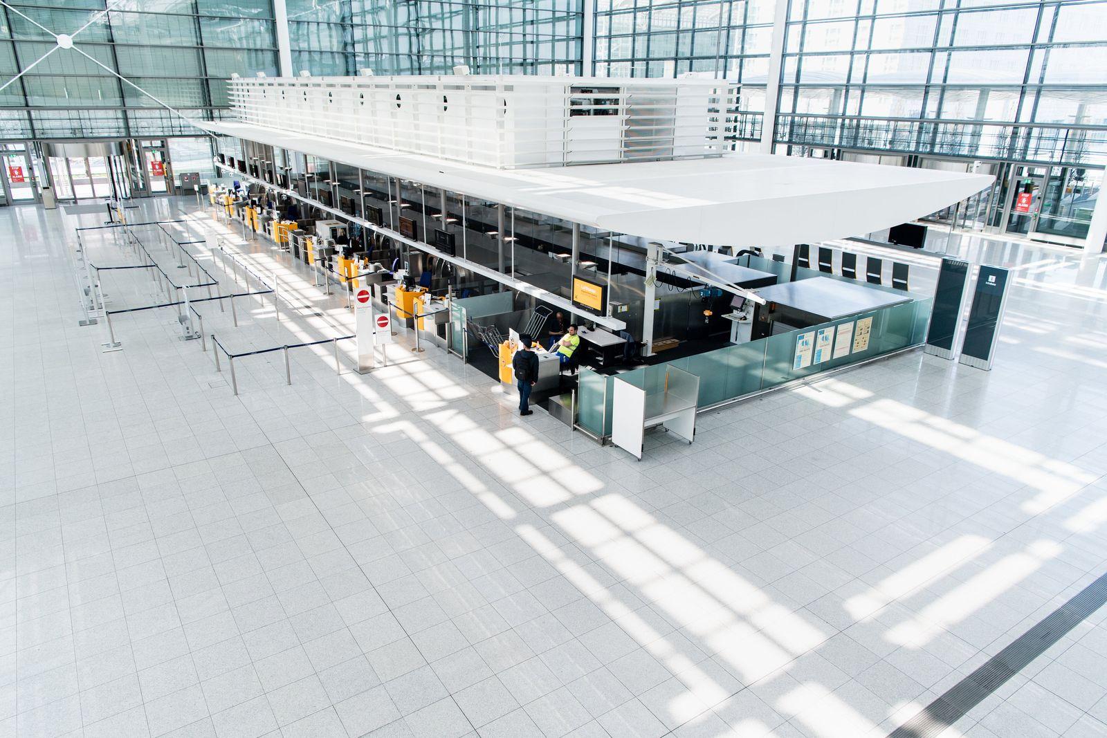 Coronavirus - Flughafen München
