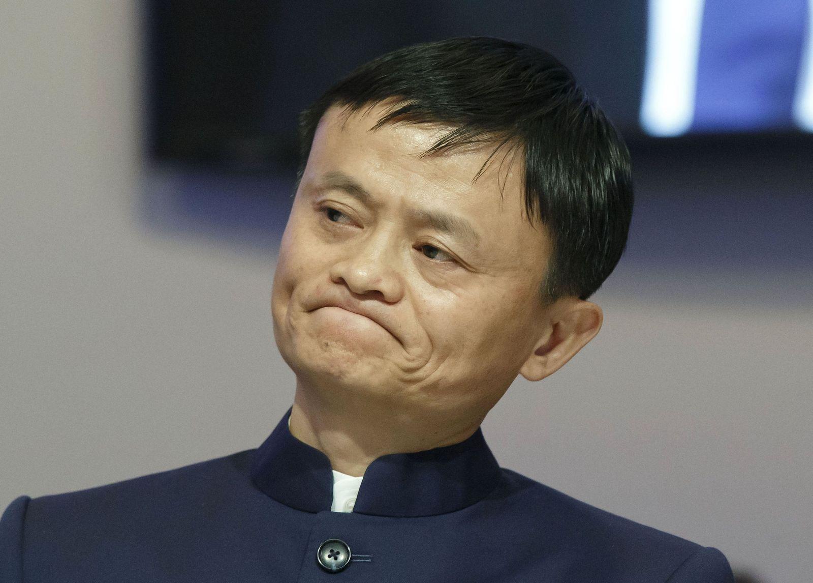 Switzerland Davos Forum Jack Ma