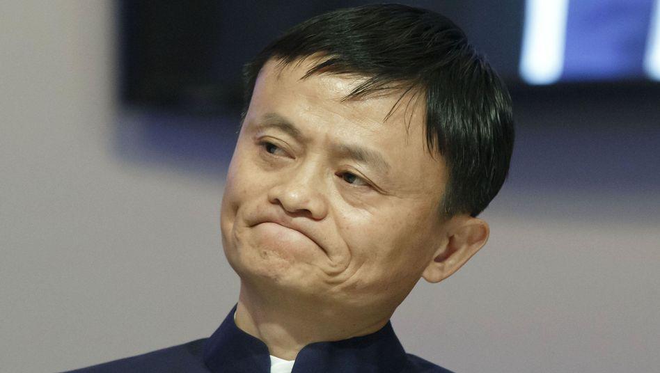 Alibaba-Gründer Ma (auf Weltwirtschaftsforum in Davos): Nur noch auf Rang drei