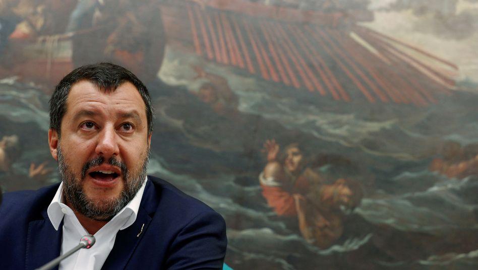 """Matteo Salvini: """"Wir akzeptieren keine Befehle."""""""