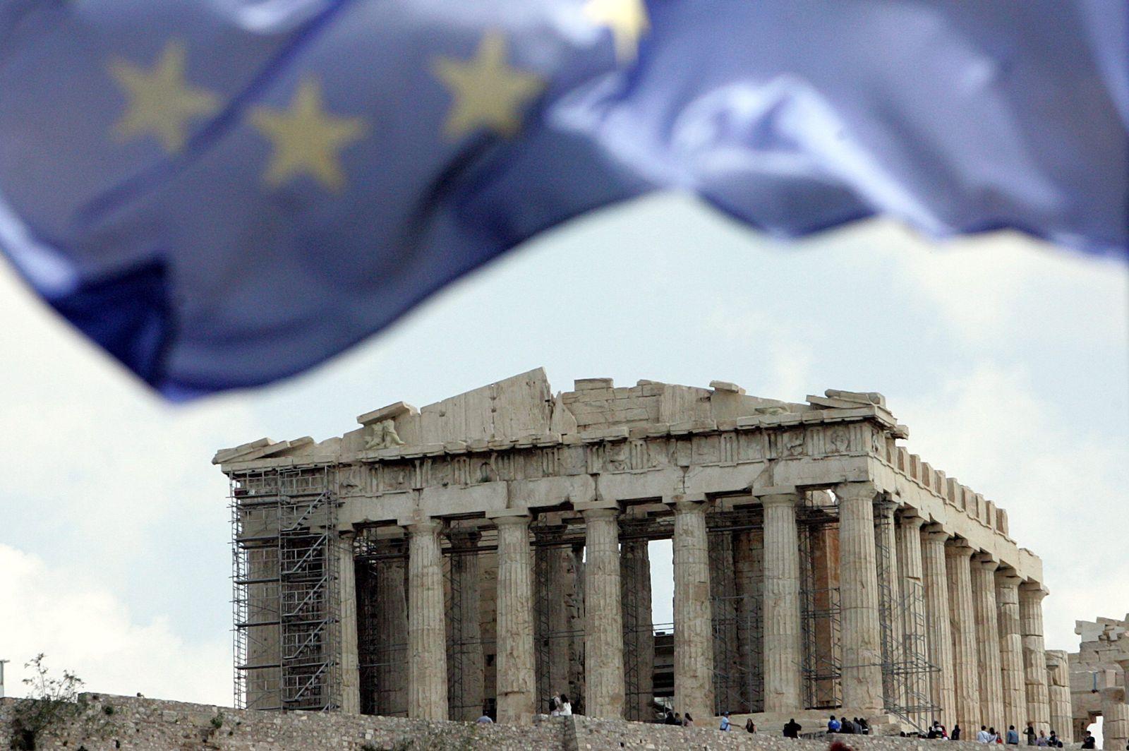 Schuldenkrise Griechenland / Akropolis