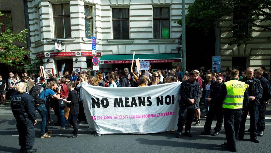 Demo gegen sexuelle Gewalt