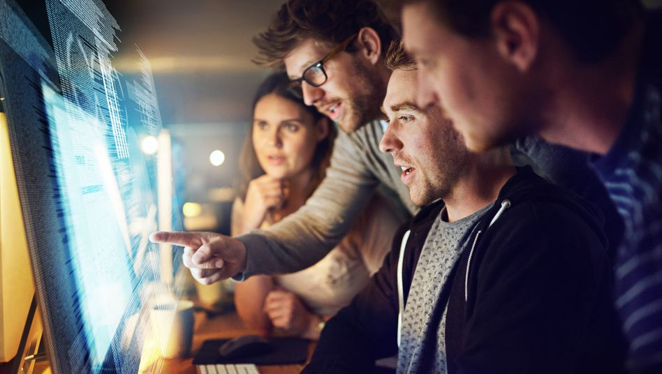 In hierarchielosen Firmen entscheiden alle Mitarbeitenden gemeinsam