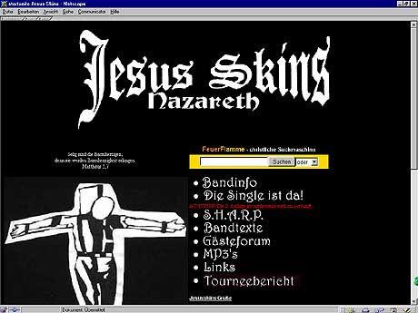 """Aua: Die """"Jesus Skins"""" gelten als Erfinder der religiösen """"Oi!""""-Musik"""