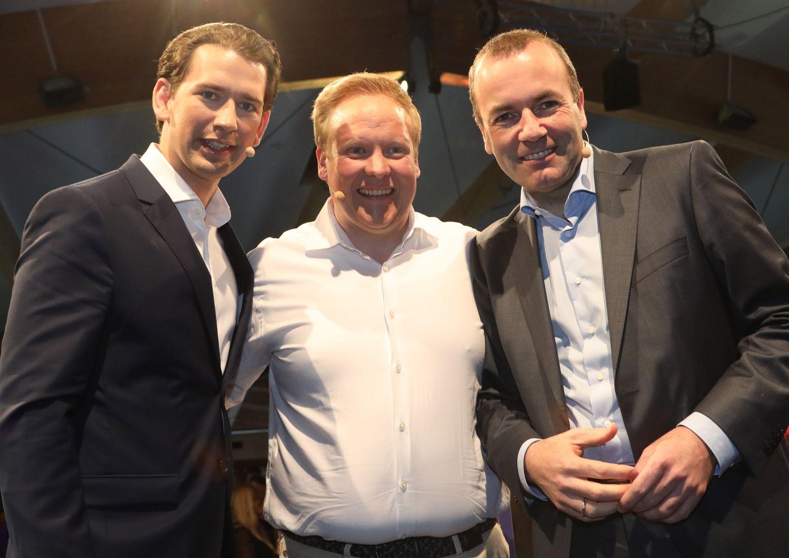 Sebastian Kurz/ Tilman Kuban/ Manfred Weber