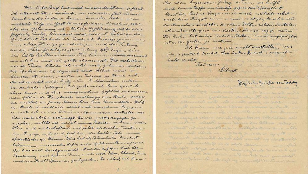 Albert Einstein: Briefe und Sinnsprüche