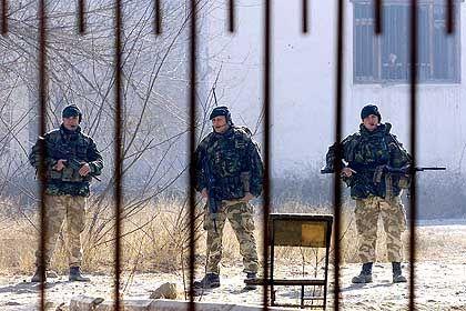 Der Voraustrupp der Schutztruppe setzt sich aus Soldaten aus 17 Ländern zusammen