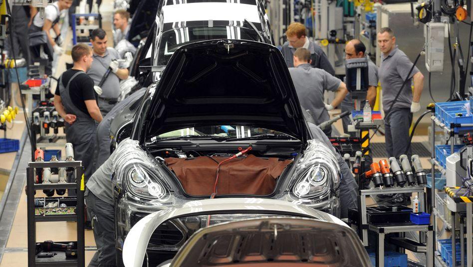 Porsche-Produktion in Zuffenhausen: In Zukunft früher Feierabend