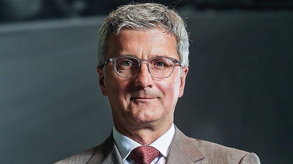 Audi-Chef Stadler 2015:Viele Worte, wenig Informationen