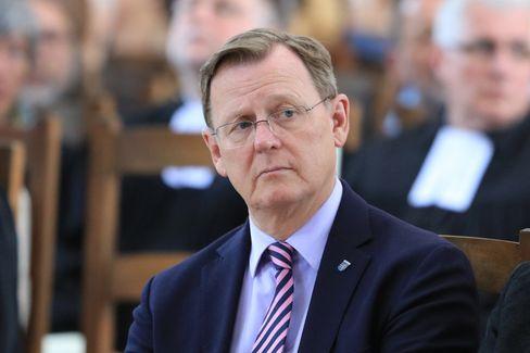 Thüringer Ministerpräsident Bodo Ramelow