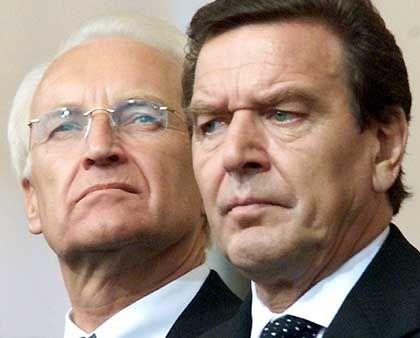 Edmund Stoiber, Gerhard Schröder: Brauchen sie ein neues Image?