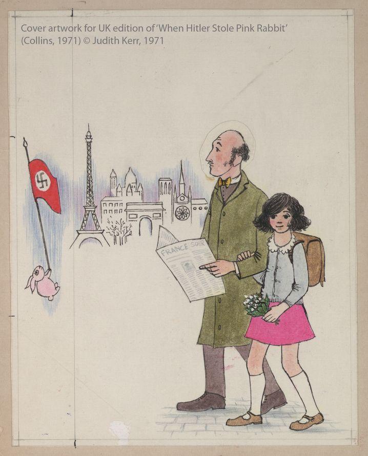 """Cover von """"When Hitler Stole Pink Rabbit"""", 1971"""