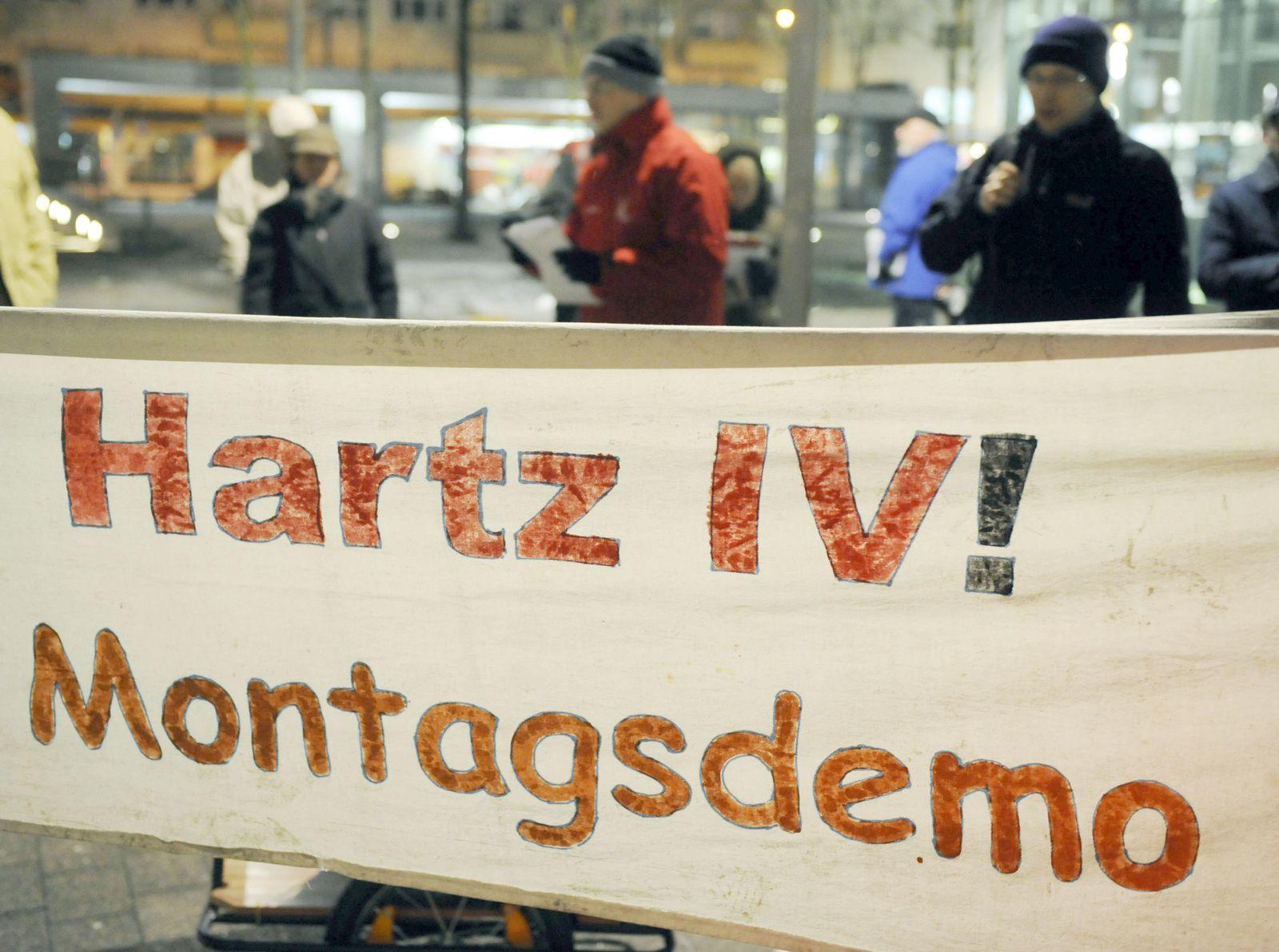 Montagsdemonstranten Hartz IV