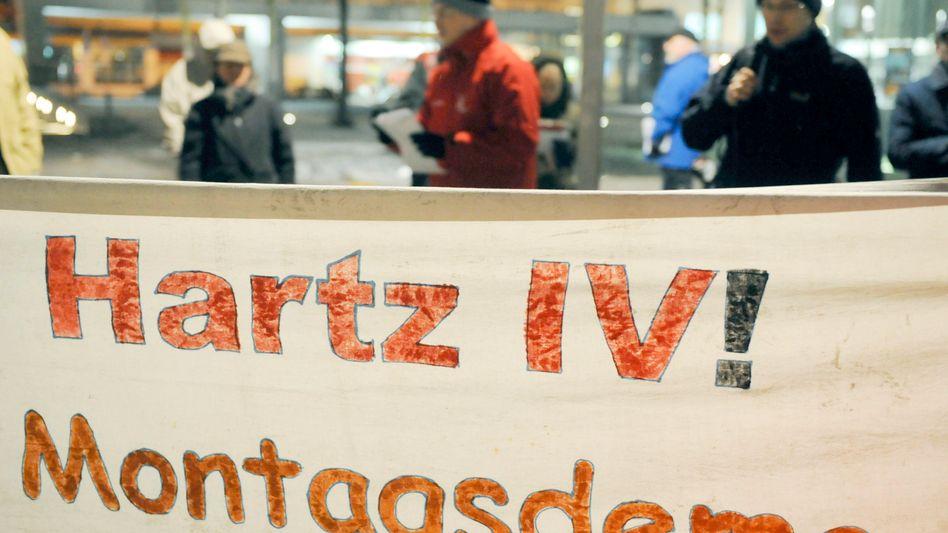 "Montagsdemo gegen Hartz IV (Januar 2010): ""Schlecht gemacht"""
