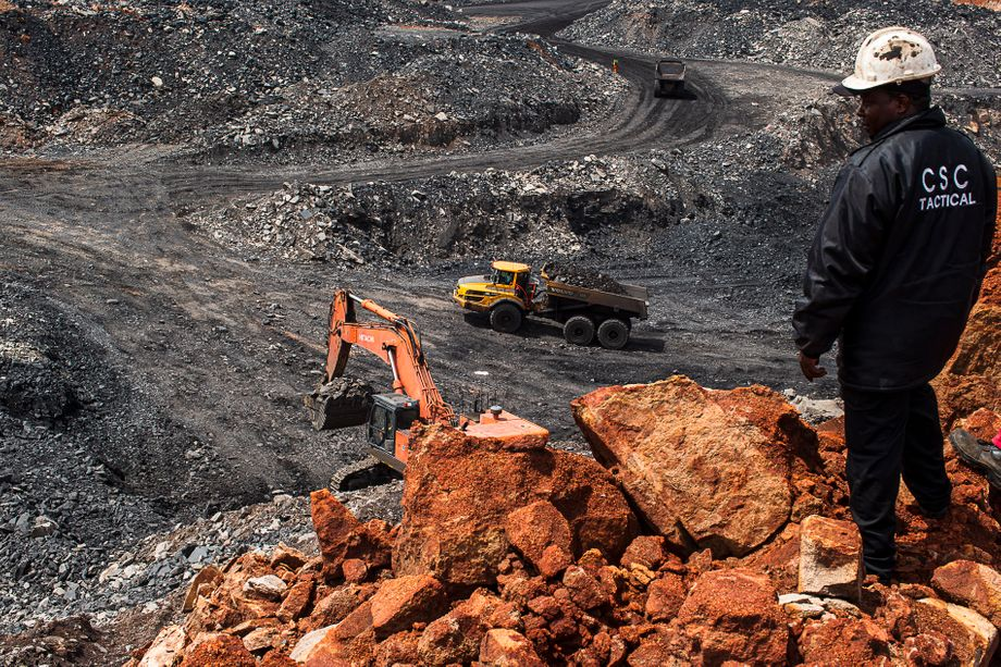 In Mpumalanga, there are hundreds of coal pits and illegal coal mines.