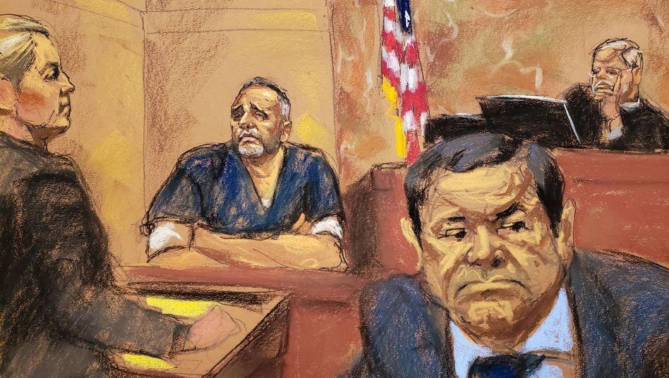 """Prozess in New York gegen """"El Chapo"""""""