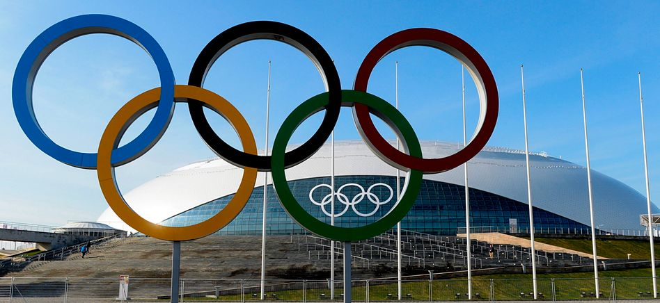 Eishalle im Olympia-Ort Sotschi: Kosten von knapp 46 Milliarden Dollar