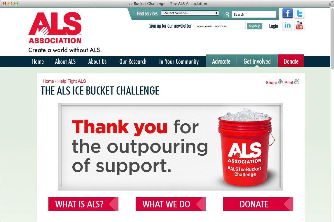 EINMALIGE VERWENDUNG SCREENSHOT/ ALS Website