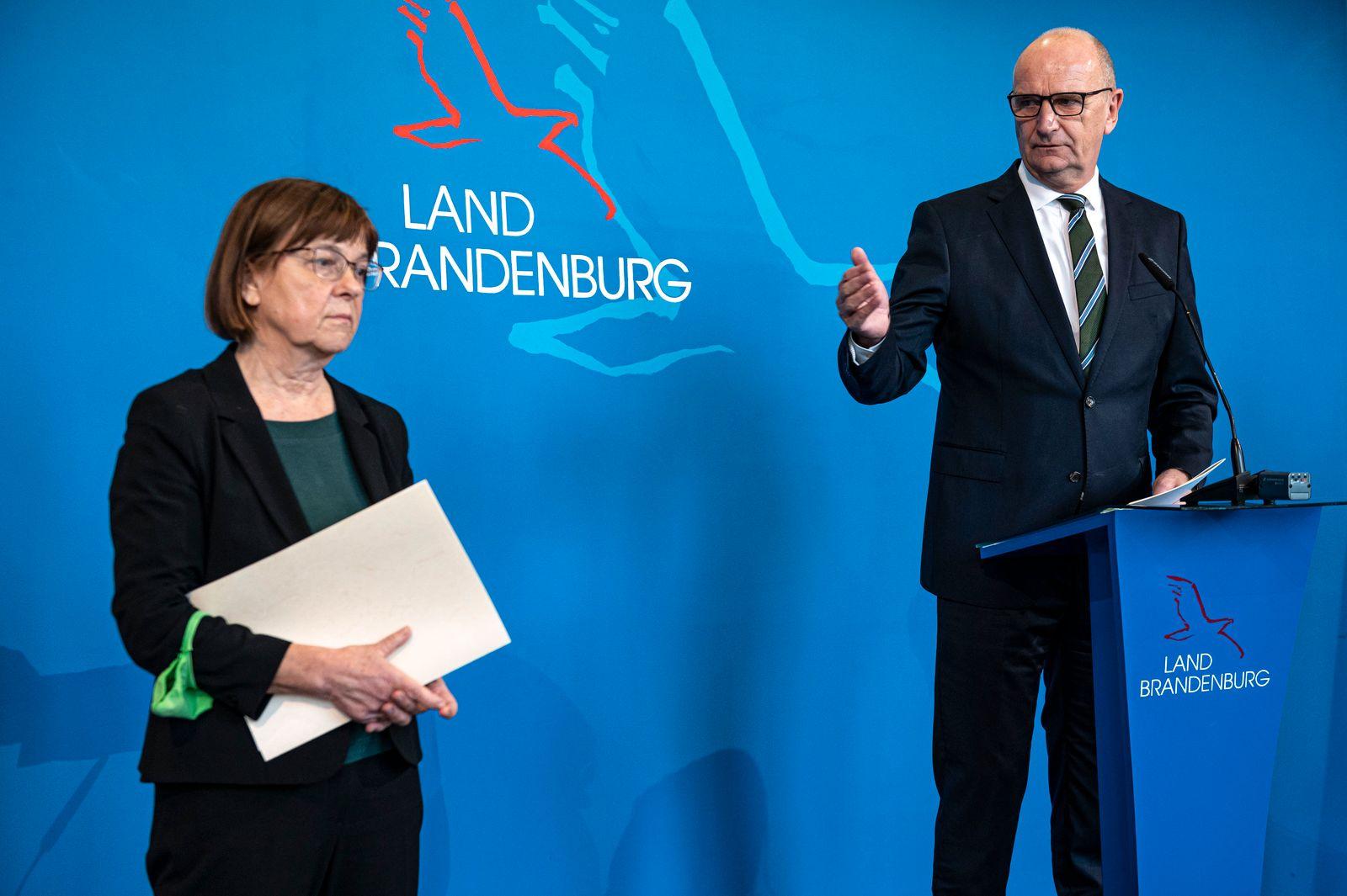 PK zur Sitzung des Kabinett Brandenburg
