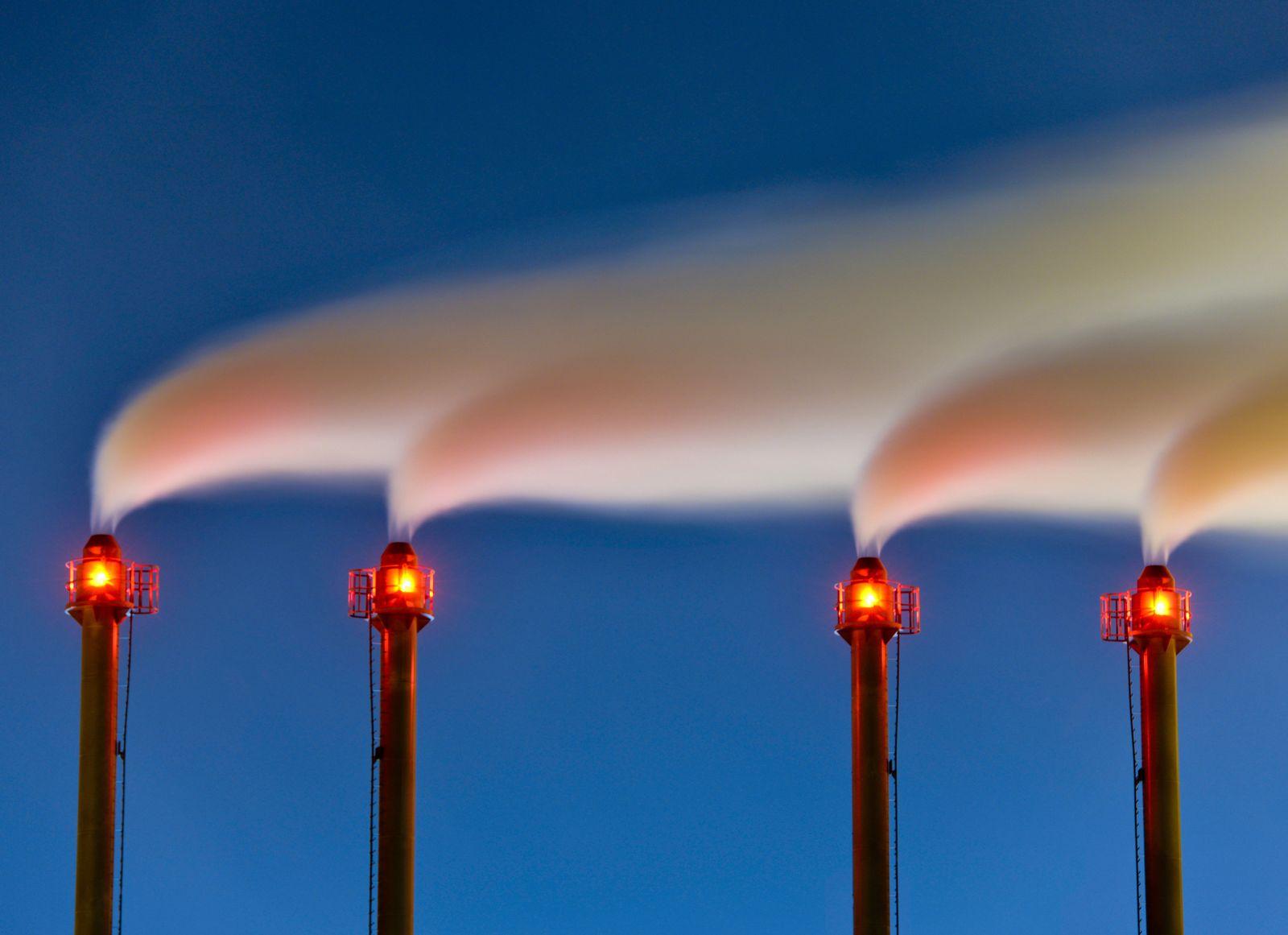CO2-Ausstoß / Treibhausgase