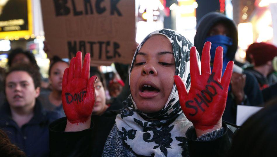 Jury-Entscheid im Fall Michael Brown: Demonstranten blockieren Verkehr in 170 US-Städten