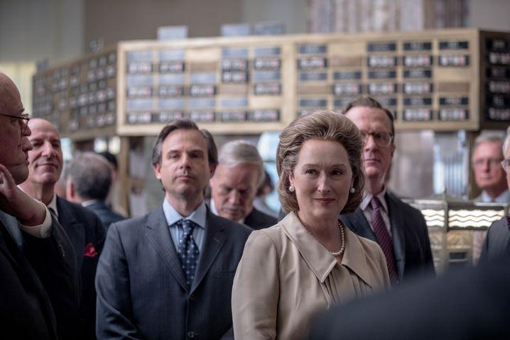 """Muss sich gegen viele Männer durchsetzen: Meryl Streep in """"Die Verlegerin"""""""