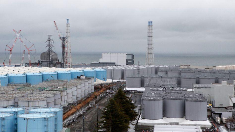 Lagertanks in Fukushima: Der Platz wird knapp