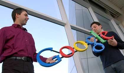 """Hoffnungsträger Larry Page und Sergey Brin: """"Google ist kein konventionelles Unternehmen"""""""