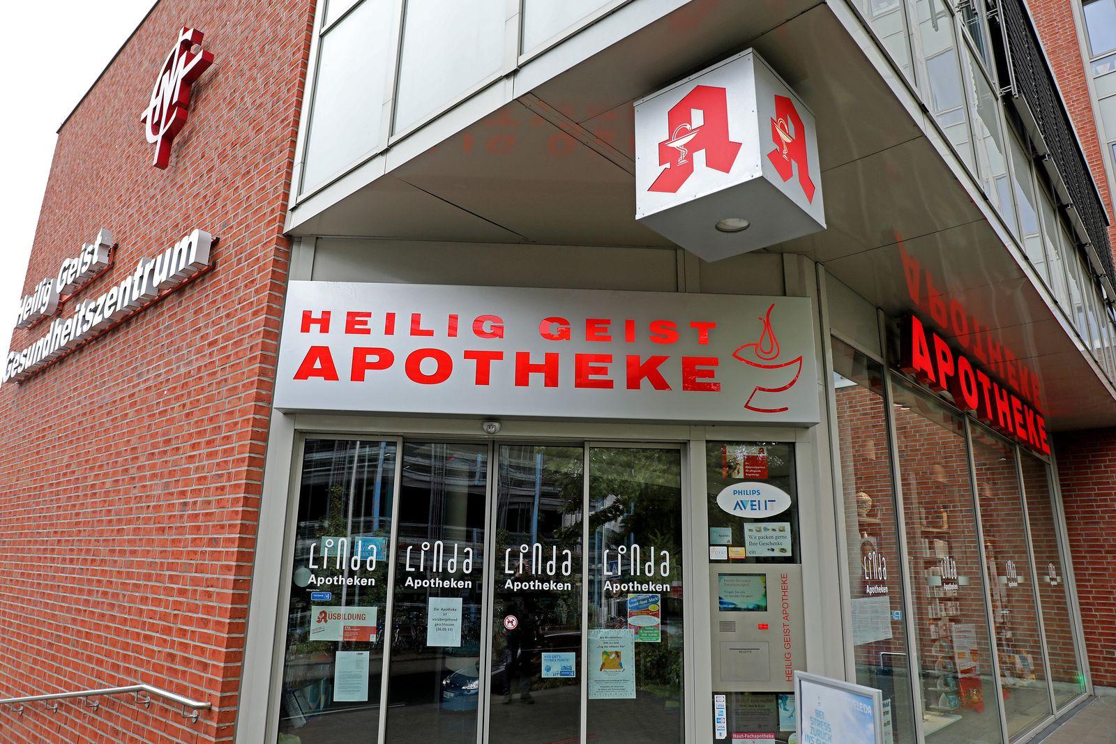 Behörden schließen drei Apotheken in Köln