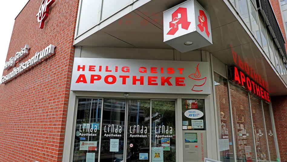 Die Heilig Geist Apotheke in Köln: Hier hatte die schwangere Frau den Glukosetest gekauft