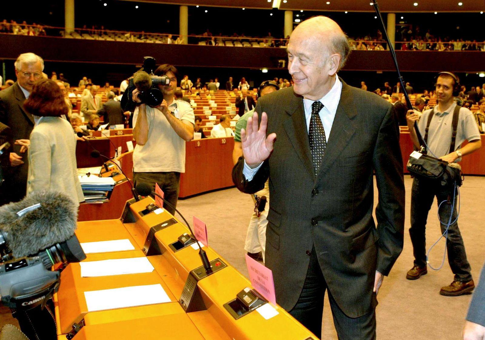 BELGIUM-EU-CONVENTION-GISCARD